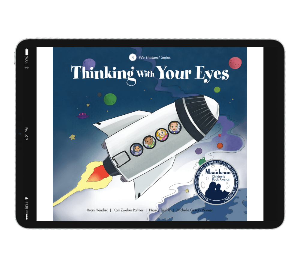 We Thinkers Storybook 3: Thinking With Your Eyes