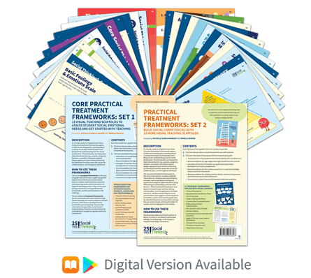 Social Thinking Frameworks Collection | A Comprehensive Set of 26 Social Thinking® Teaching Frameworks